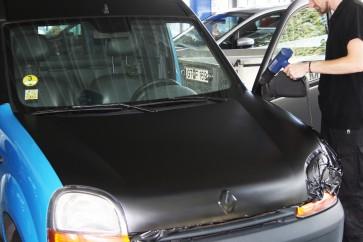 Vollverklebung von Fahrzeugen (Car Warping) Smart für