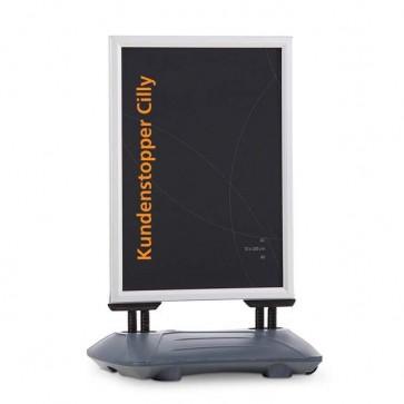 Kundenstopper in verschiedenen Formaten, A1, A0, 70x100cm