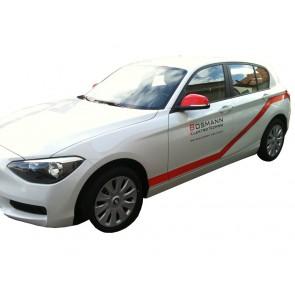 Fahrzeugbeschriftung 2 Türbeschriftungen