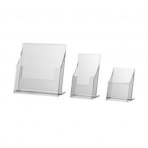 Pexi-Prospektständer A6, DIN-LANG, A5, A4