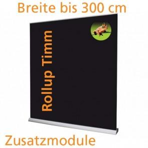 Rollup in 80/100/120/150/200/240/300cm Breite